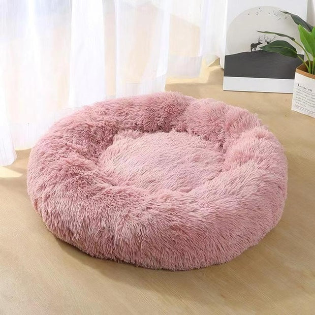 Dog Plush Donut Beds.