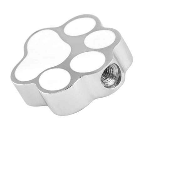 Dog Paw Print Pet Cremation Jewelry.
