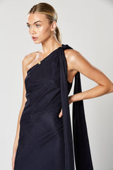 VIRTUE MAXI DRESS NAVY