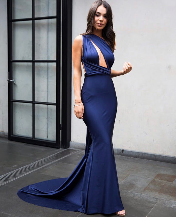 LILIANA GOWN NAVY