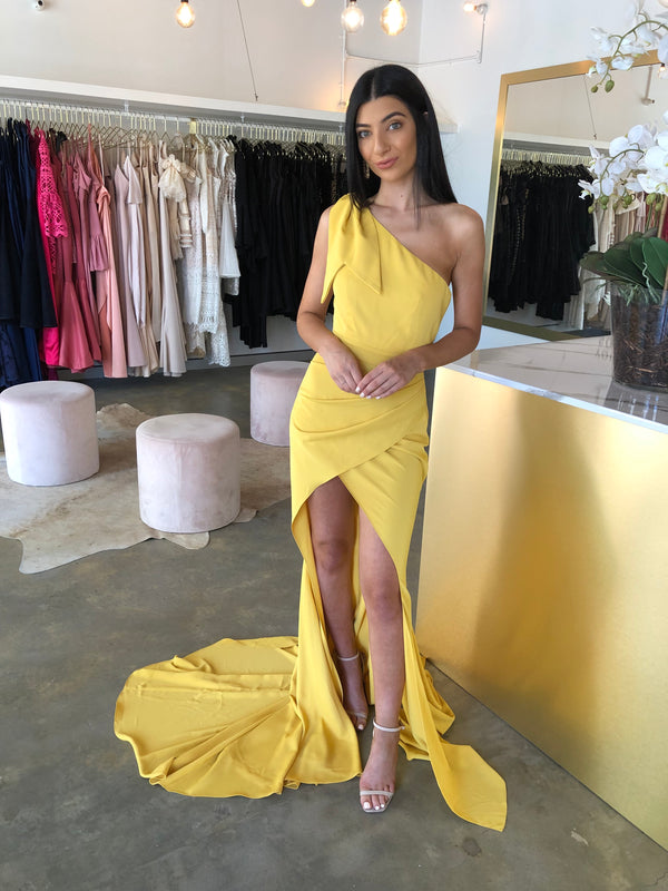 LAUREN DRESS YELLOW
