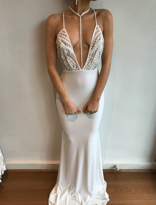 HADID GOWN WHITE