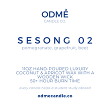Load image into Gallery viewer, Sesong 02 - ODMÉ Candle Co.