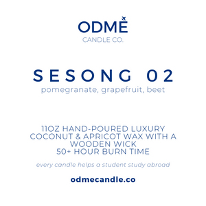Sesong 02 - ODMÉ Candle Co.