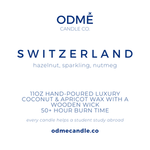 Switzerland - ODMÉ Candle Co.