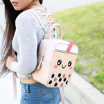 [BACKORDERED] Cute Boba Backpack / Messenger Bag / Crossbody Bag