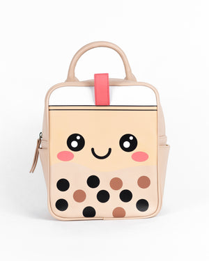 Cute Boba Backpack / Messenger Bag / Crossbody Bag