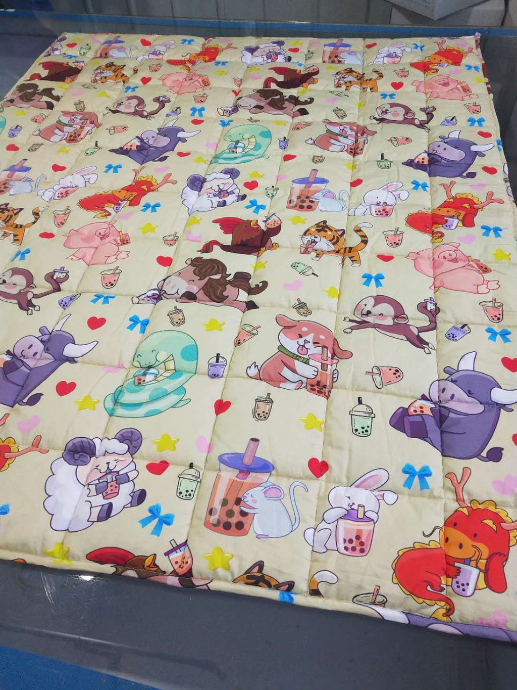 [PRE-ORDER] Cute Boba 5 lb Weighted Blanket, 60x50""
