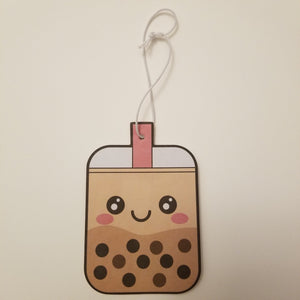 Boba Milk Tea Air Freshener