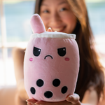 Happy and Angry Reversible Boba Plushie