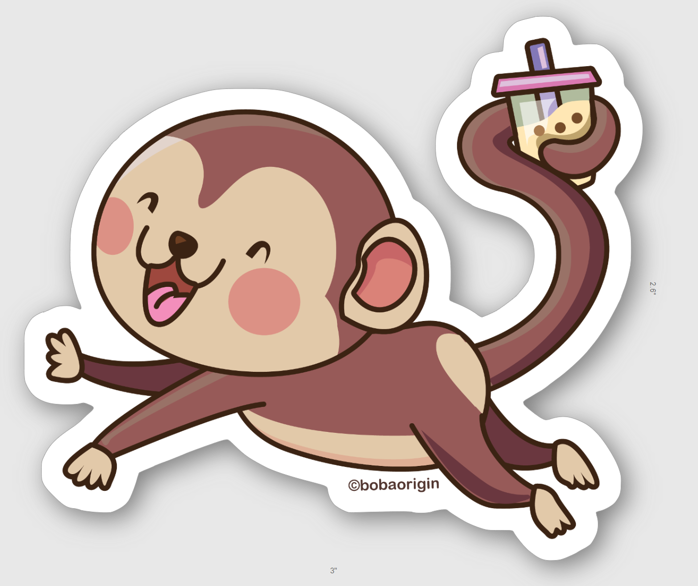 12 Adorable Chinese Zodiac Animals Stickers