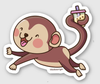 Adorable Chinese Zodiac Animal Stickers (24 Variations)