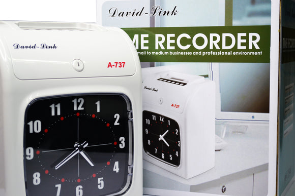 David-Link A-737 Time Recorder