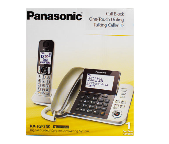 Panasonic Digital Corded/Cordless Phone KX-TGF350