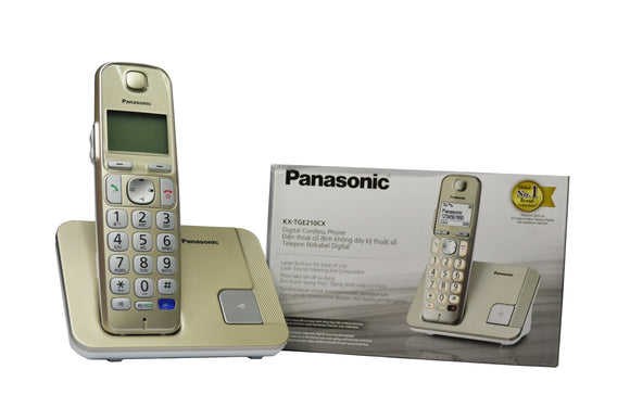 Panasonic KX- TGE210CX Digital Cordless Phone