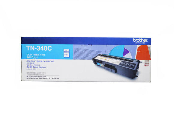 Brother Toner Cartridge TN-340C Cyan