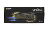 PKGM-9101 PROLINK VELIFER ILLUMINATED MULTIMEDIA GAMING KEYBOARD