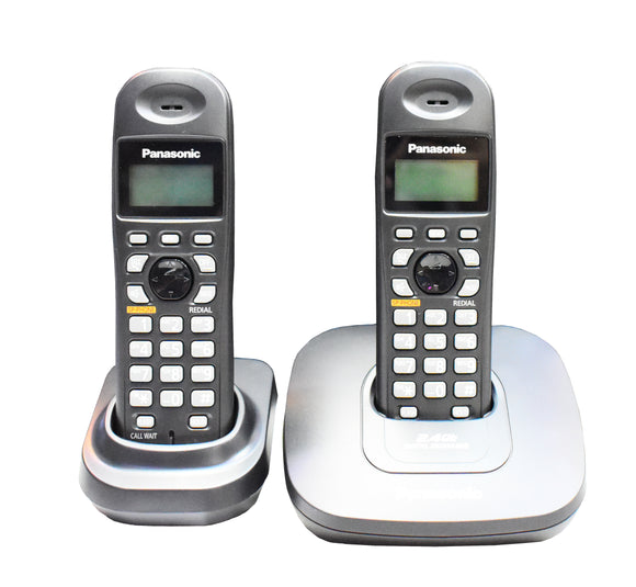 Panasonic Digital Cordless Phone with 2 Handset KX-TG3612BX