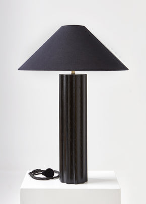 Column table lamp