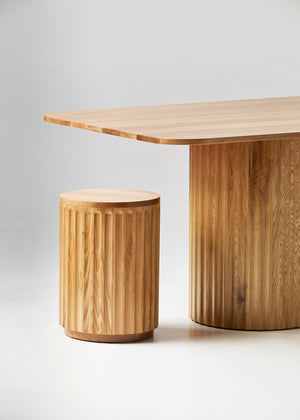Twin Pedestal table