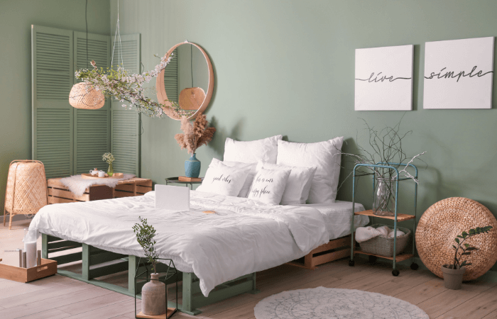Chambre Cocooning Clair