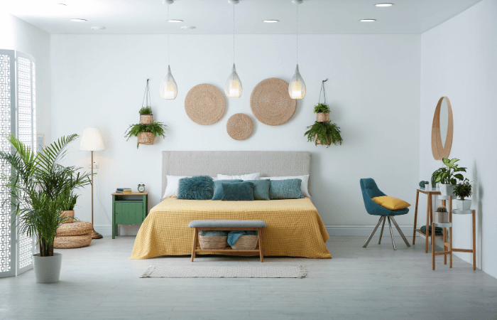 Chambre Cocooning Parquet