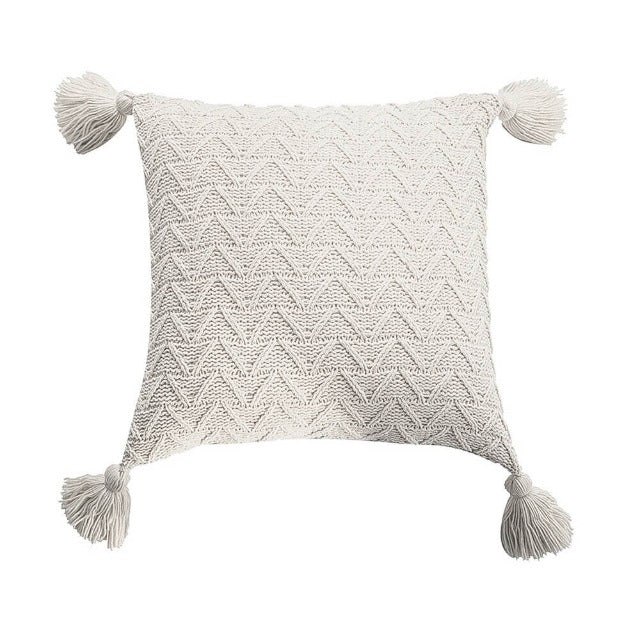 Coussin Blanc Beige