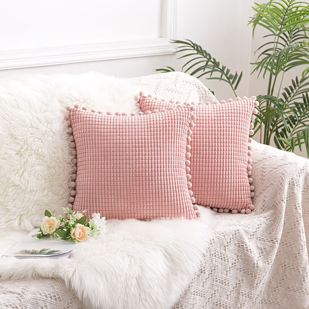 Coussin Cocooning Rose Gold