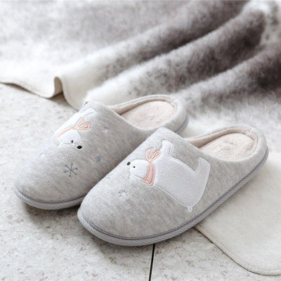 Chaussons Ourson Polaire