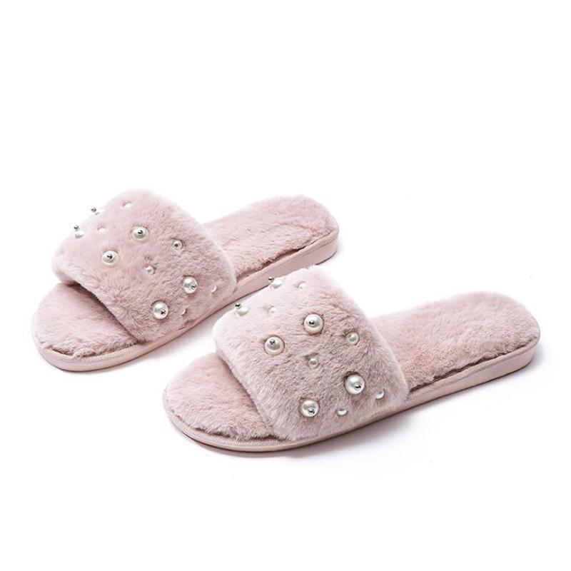 Chaussons Perles