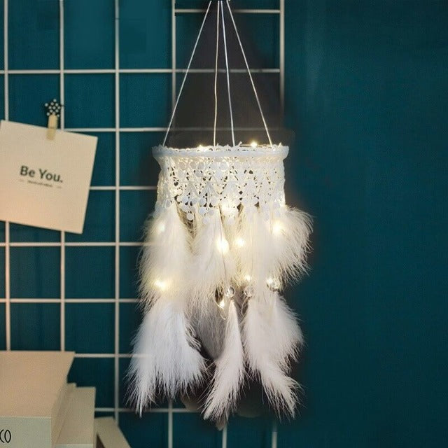 Macramé Suspension Plumes 'Dream'