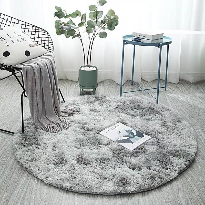 Tapis Rond Steel