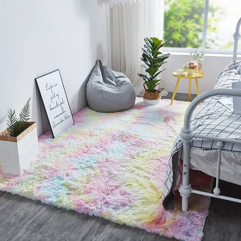 Tapis Multi couleur 'Rainbow'