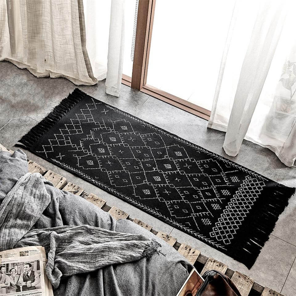 Tapis en Lin Naturel