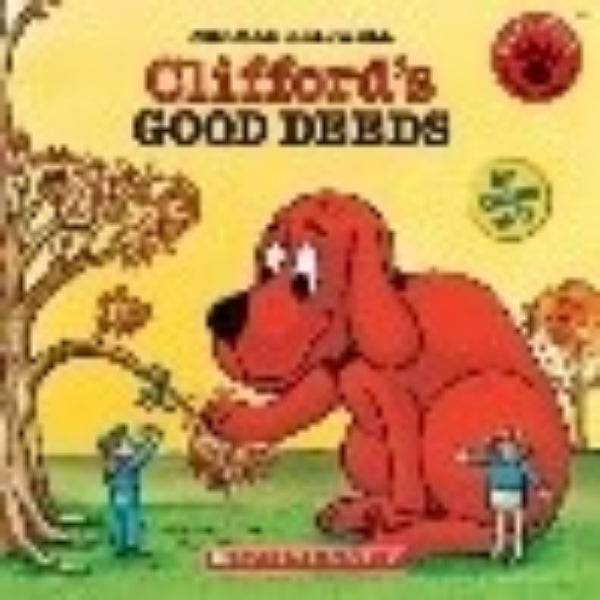 READ ALONG BOOK & CD CLIFFORD S GOOD DEEDS