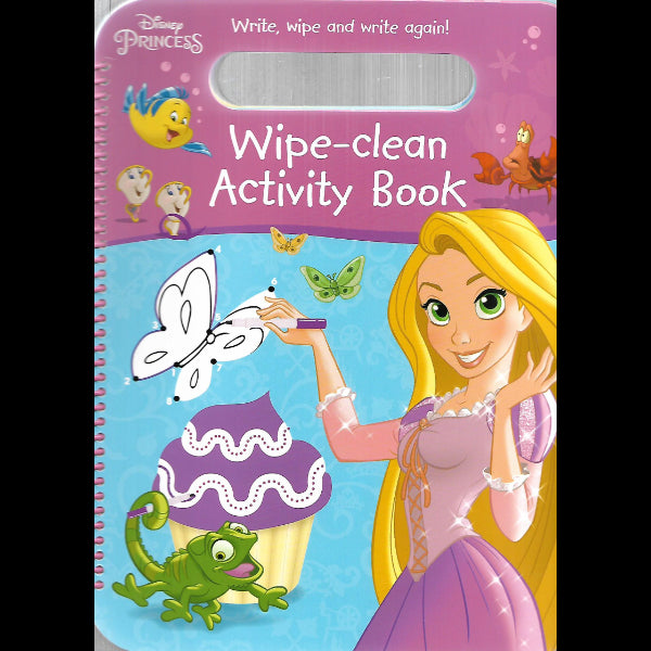 Disney Princess Wipe Clean Activity Book