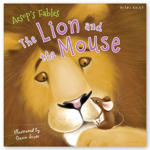 AESOP S FABLES THE LION AND THE MOUSE