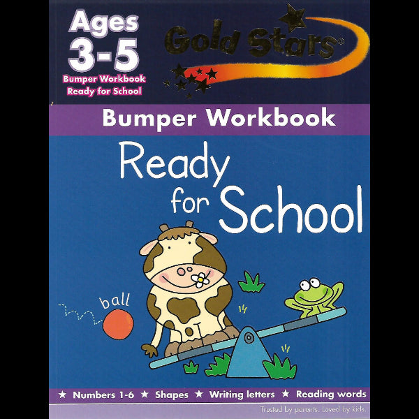 Golden Stars Bumper Work Book Ages 3 5