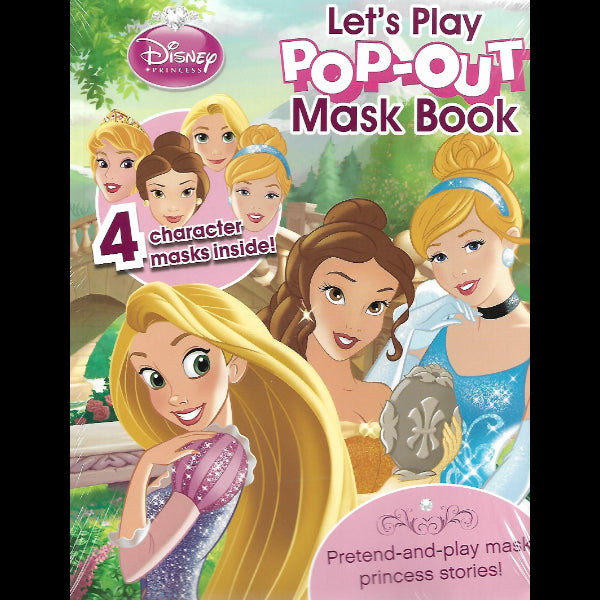 Let s Play Pop Out Mask Book