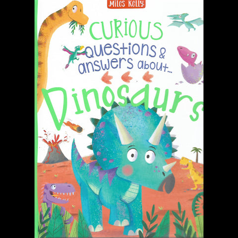 CURIOUS QUESTIONS AND ANSWERS ABOUT DINOSAURS