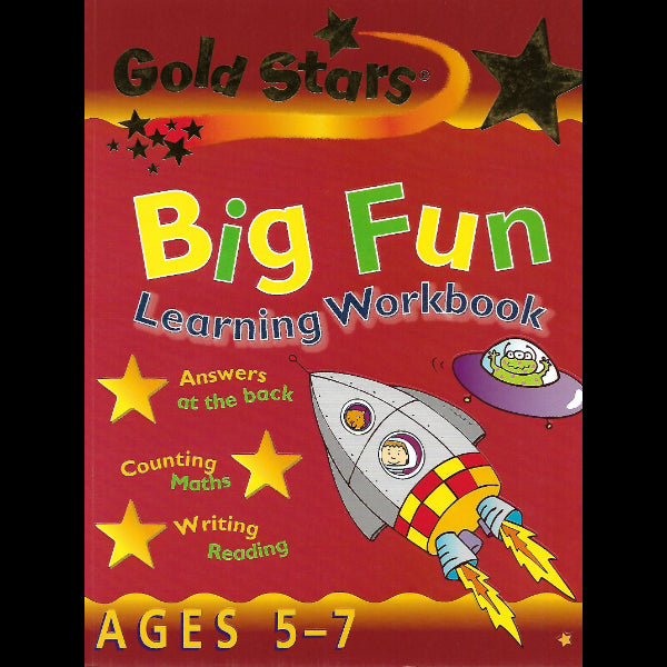 Big Fun Learning Workbook Ages 5 7