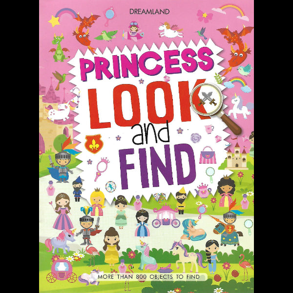 Princess Look and Find