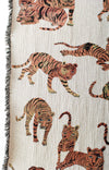 Playful Tigers Blanket-Olivia Wendel