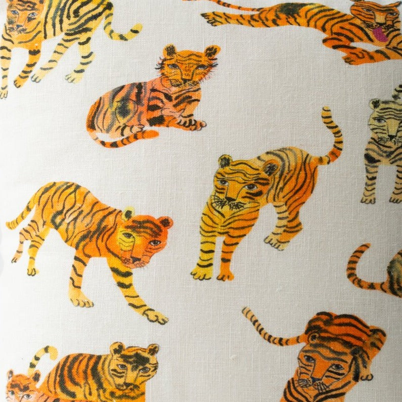 Wild Tigers Pillow