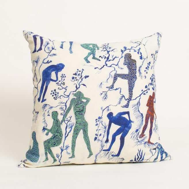 Silhouettes II Pillow-Olivia Wendel