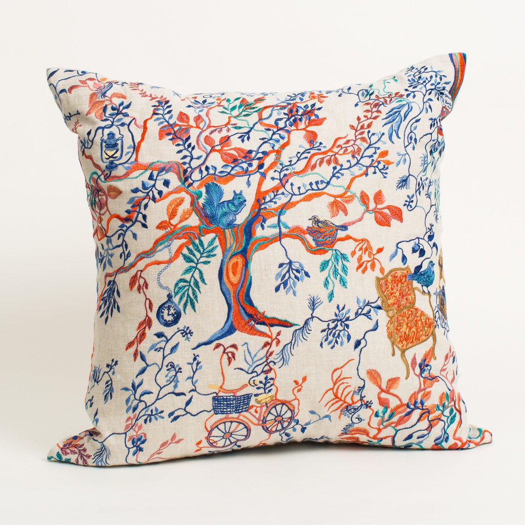Wonderland Afternoon Pillow-Olivia Wendel