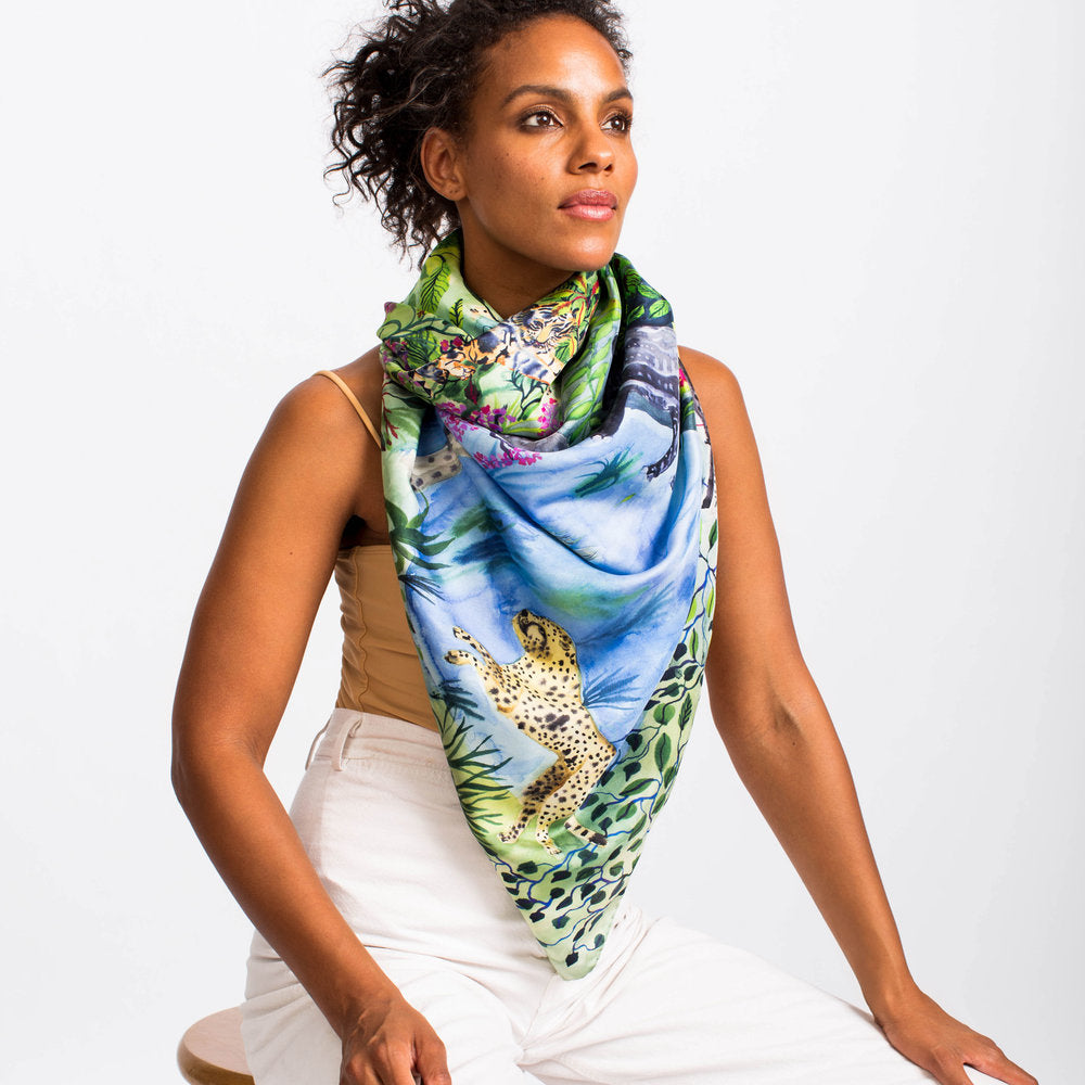 Animal Kingdom Scarf-Olivia Wendel