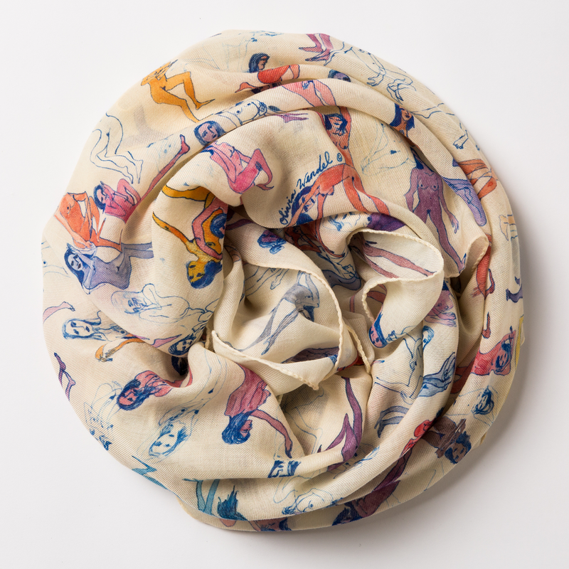 Dawn and Dusk Scarf-Olivia Wendel