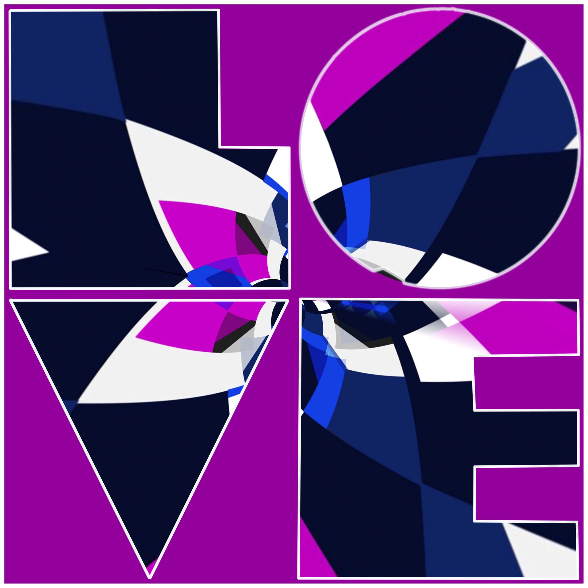Ode to Robert Indiana: LOVE 2021 Version  2