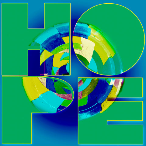 Ode to Robert Indiana: Hope Version 1-2-3